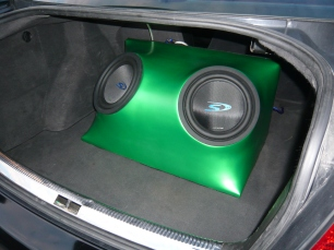 green box installed